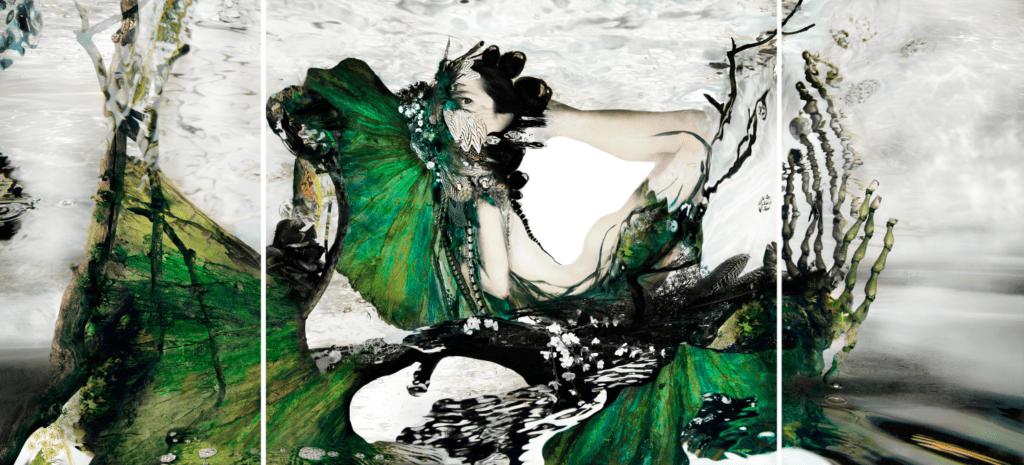 Geisha 2018 - 150 x 330 cm
